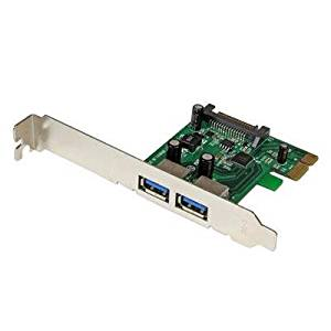 2 Pt PCIe USB 3.0 Card w UASP Electronics Computer Networking