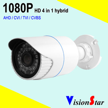 Analog infrared hd 4 in1 cctv 2.0mp camera 2000tvl video security 1080p bullet model