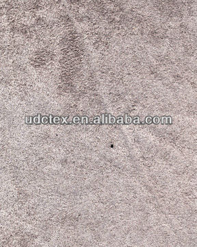 Microfiber faux suede furniture upholstery fabric