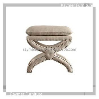 Sensational X Base Nail Head Wide Linen Upholstered Antique Ottoman Stool Buy Ottoman Stool Antique Ottoman Stool Upholstered Ottoman Stool Product On Beatyapartments Chair Design Images Beatyapartmentscom