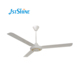 OME kdk national 56 inch 1400mm white industrial style metal iron aluminum blade ceiling fan with high rpm