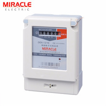 single phase analog electric meter for electric meter reading