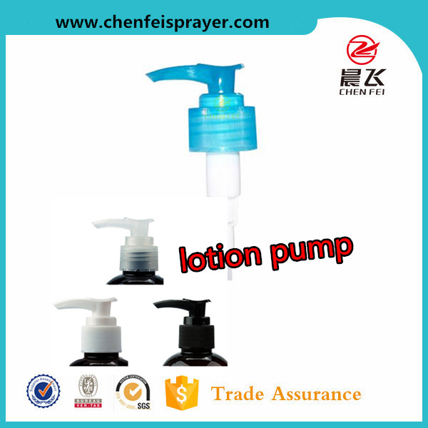 CF-L-12 liquid dispenser lotion cream pump bottle usage output 2ml free samples plastic screw lotion pump for shower gel