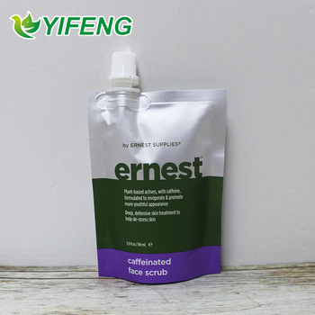 Cosmetic Spout Pouch Printed Iso9001 Certified 100ml practica Top Quality Soft Hand Washing Special Sachet Liquid Soap Packaging