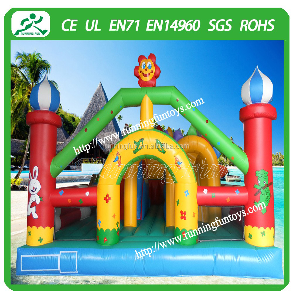 CE certificate excellent quality adult bouncy castle, inflatable jumping castle