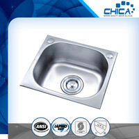 Stainless Steel Sink with Top Mount installation for india market