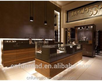 Retail Jewellery Shop Furniture Counter Design Luxury Jewelry ...