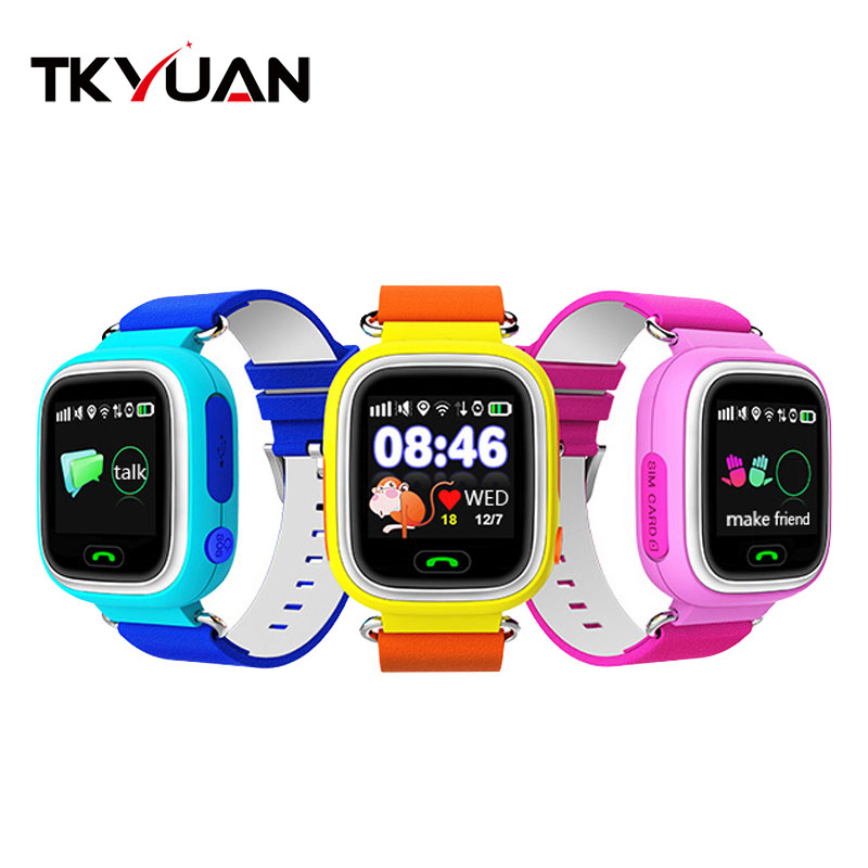 Child Q90 Touch Screen WIFI Smart baby Watch Location Finder Device GPS Tracker watch for Kids Anti Lost Monitor PK Q80 Q60 Q50 фото