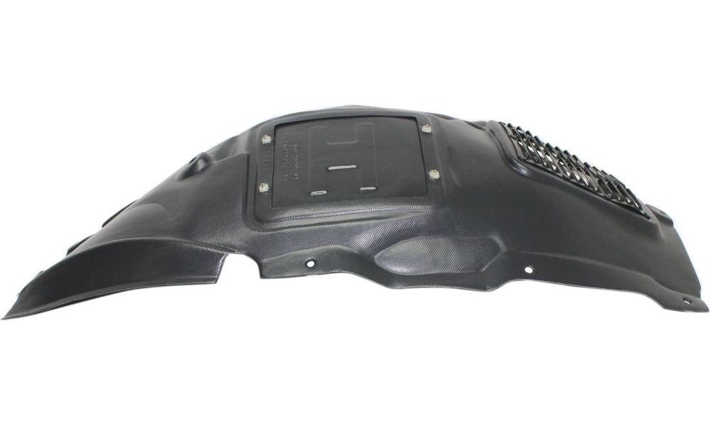 Evan-Fischer EVA183111214340 New Direct Fit Splash Shield for 3-SERIES 12-14 FRONT RH Front Upper Section Sedan/Wagon Passenger Right Side Replaces Partslink# BM1249130