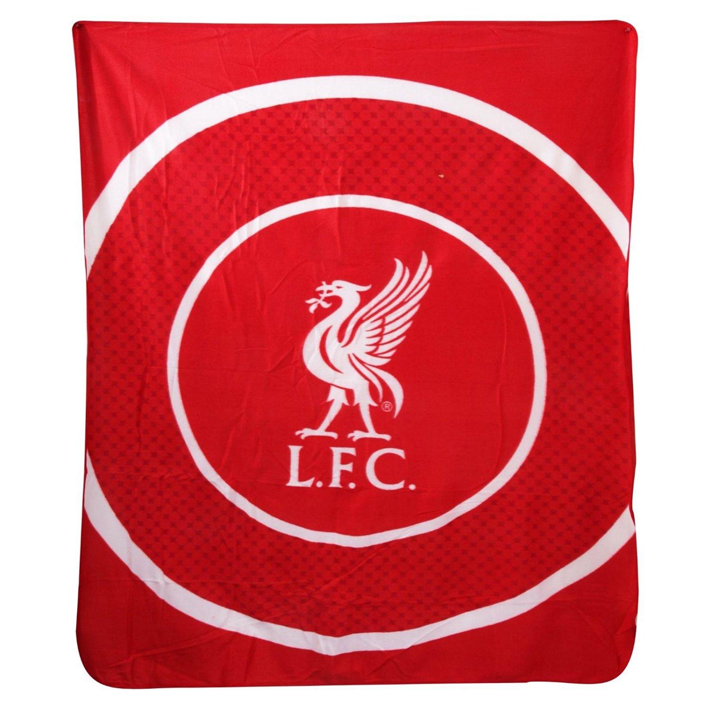 Liverpool FC Bullseye Fleece Blanket