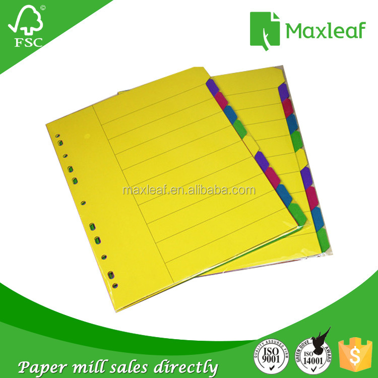 Quality products colored index cards interesting products from china