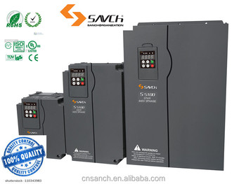 SANCH 7.5kw Permanent magnet three phase variable frequence inverter for ac Synchronous asynchronous motor