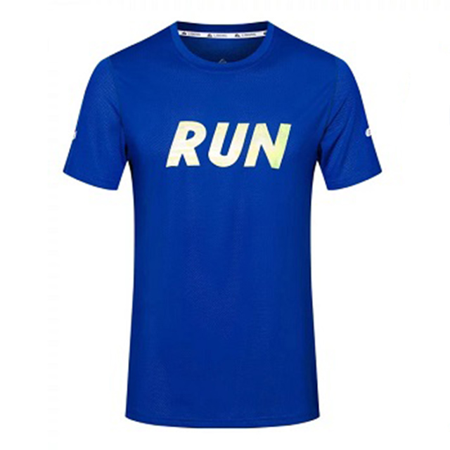 Men's Sports Active Running T Shirts Short Sleeves Quick Dry Training Shirts Men Gym Top Tee Clothing