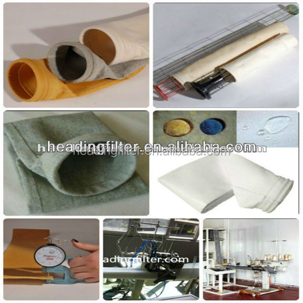 Aramid / Nomex Filter Bag For Industrial Dust Filter Use