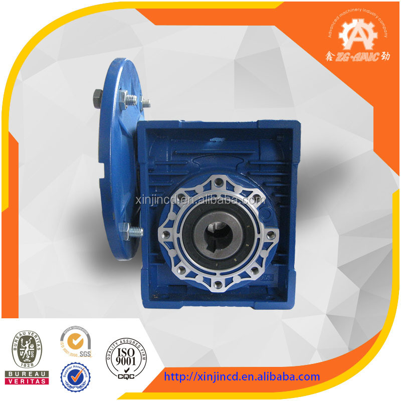High quality RV series ac gear motor for plastic extruder