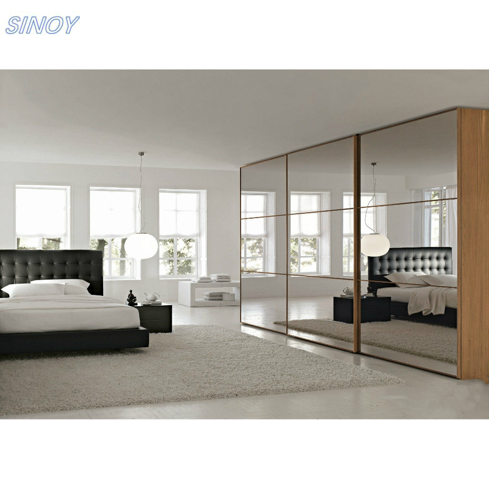 Quick Delivery And Good Price Sliver Mirror For Bedroom Wardrobe Sliding Doors