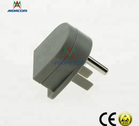 USA earth bonding plug with 1 M resistor