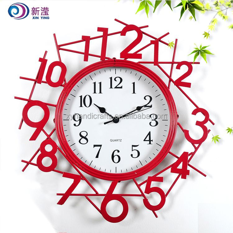Factory The Most Popular Iron Wall Clock View Iron Wall Clock