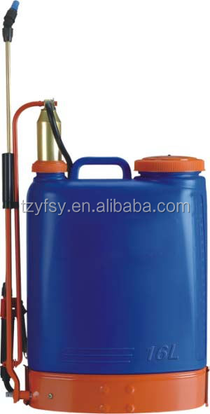 20Liter Manual Knapsack Plastic Sprayer Made in Taizhou