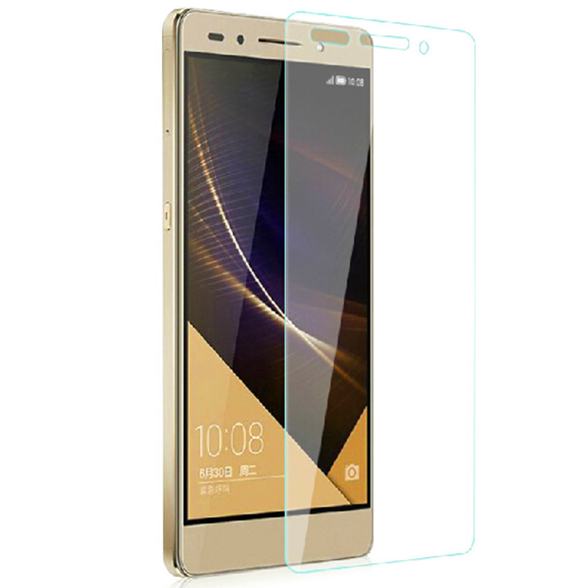 Ultra Thin 9H Hardness 2.5D Explosion Proof Tempered Glass For Huawei Honor 7 Pelicula De Vidro 0.26mm Explosion-Proof Membrane
