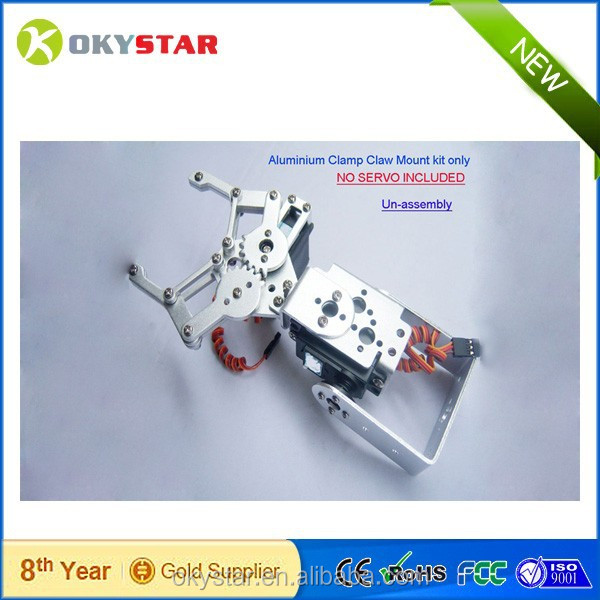 High quality with factory price! Robot Gripper F03992-A 2 DOF Aluminium Robot Arm Clamp Claw Mount kit robot claw
