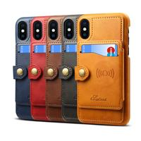 Wholesale Wallet Premium PU Leather Kickstand Card Slots Cash Purse Wallet Phone Case for iPhone XS MAX/XR/XS/X/8P/7P/8/7