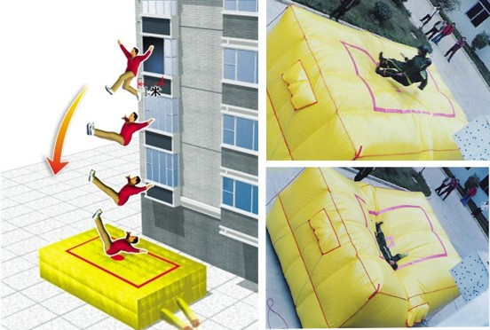 Safety air cushion , Inflatable cushion,rescue cushion