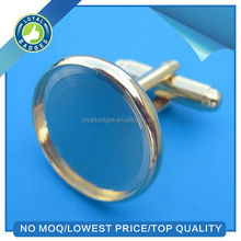 custom Round Blank Cufflinks Wholesale