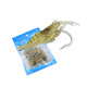 Cheap Artificial Soft Fishing Sabiki Lures Shrimp Fishing Lure