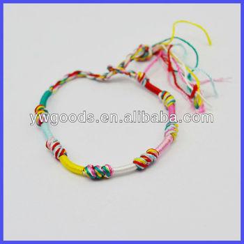 7 Knots Friendship Bracelet Buy Colourful Cord Braid Bracelet