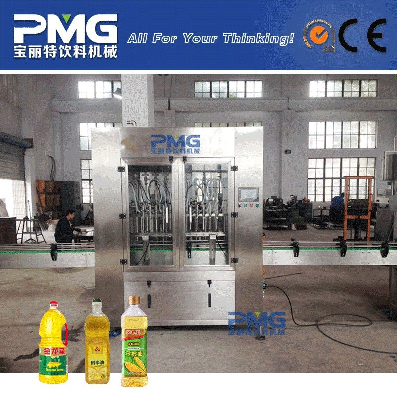 High Quality Automatic Vegetable Oil Filling Machinery / Olive Oil Filling Machine