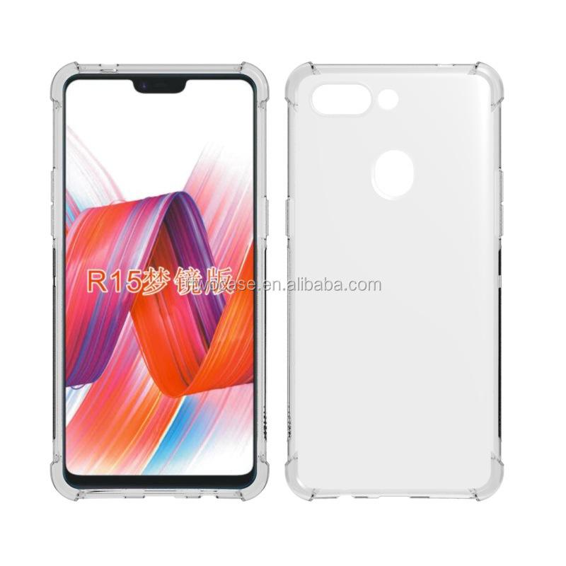 newest c3a8b c6390 Four Corner Shockproof Soft Tpu Bumper Case For Oppo R15 Pro /r15 Dream  Mirror Edition - Buy Case For Oppo R15 Pro /r15 Dream Mirror ...