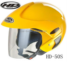 half face helmet HD50S scooter open face helmet with removable liner