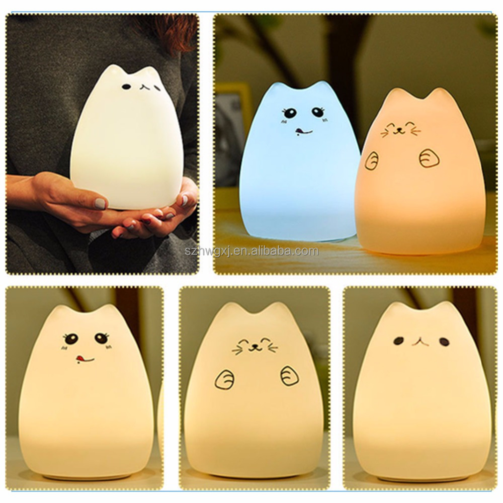 Hot selling OEM animal silicone mood light