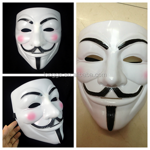 wholesale for vendetta mask/Moives Vendetta Anonymous Movie Guy Fawkes Vendetta face Mask