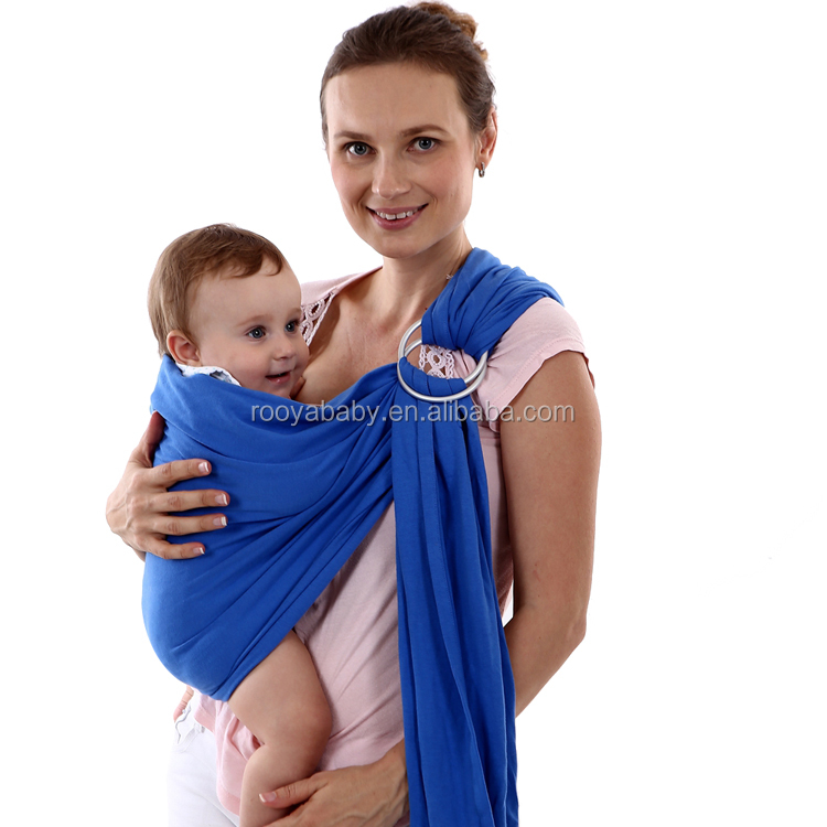 Comfortable and safety ring slings for newborns cost-effective baby sling wrap carrier