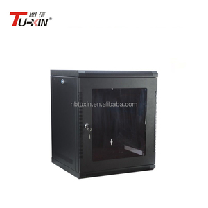 Hight quality 19 inch 12u network server rack cabinet with cooling fans