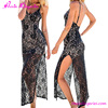 Hot Sale Backless Split Women New Maxi Dresses Sexy Nighty For Honeymoon