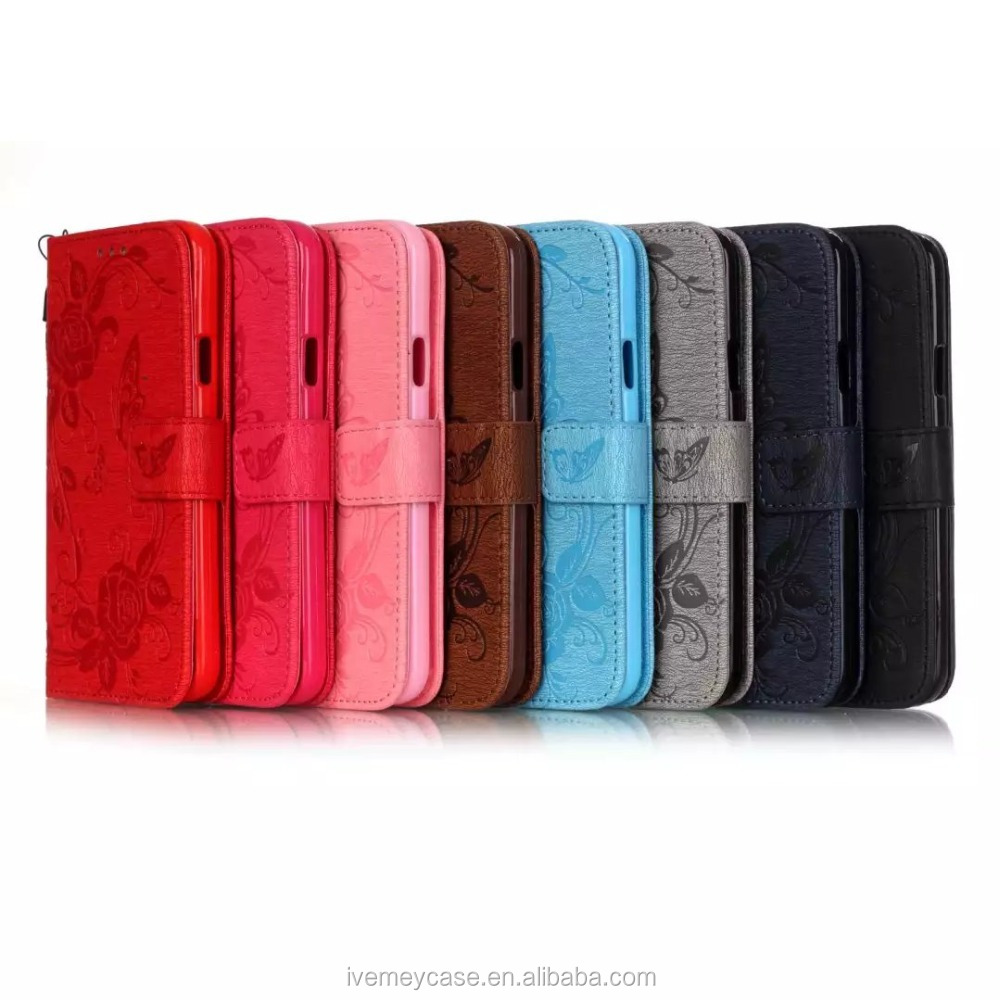 2017 new arrive real leather case for Iphone 7 /leather mobile phone case for Iphone /mobile case for lady