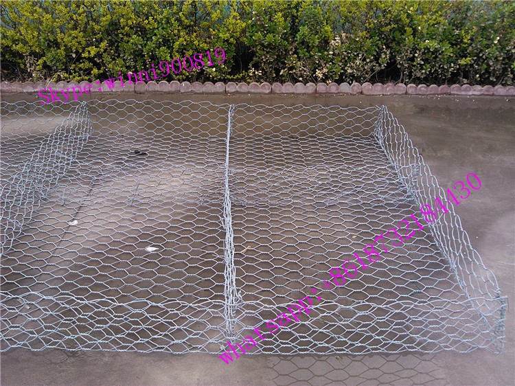 Atacado alibaba anping 10mm galvanizar Hexagonal Wire Mesh/gabião caixa made in china