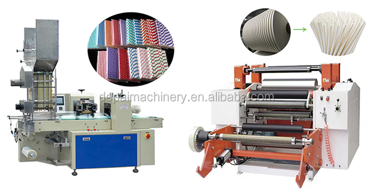Eco friendly design paper drinking straw making machine for paper straw