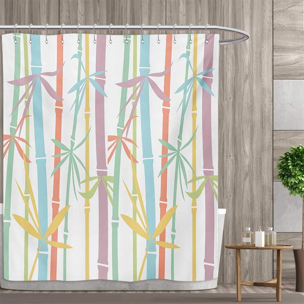 Grass skirt shower curtain — photo 6