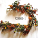 Artificial Autumn Floral Garland W/ mum and wild flowers