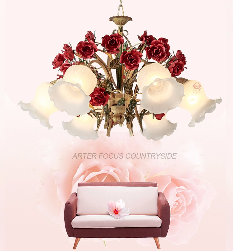 Arter Home Decor Items Wholesale Price Countryside Style Flower