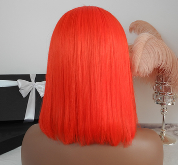 2019 hot selling baoli hair 100% remy human bob wigs,wholesale price red bob lace front wigs