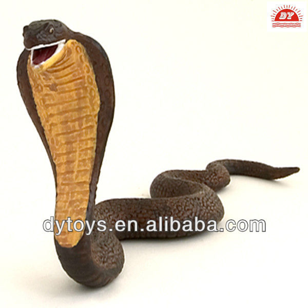 plastic cobra snake animal toy