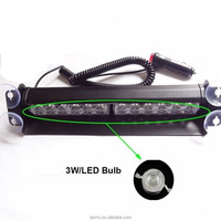 2016 New Bright 36W LED Bulb Police Emergency Vehicle Car Truck Visor Strobe Lights