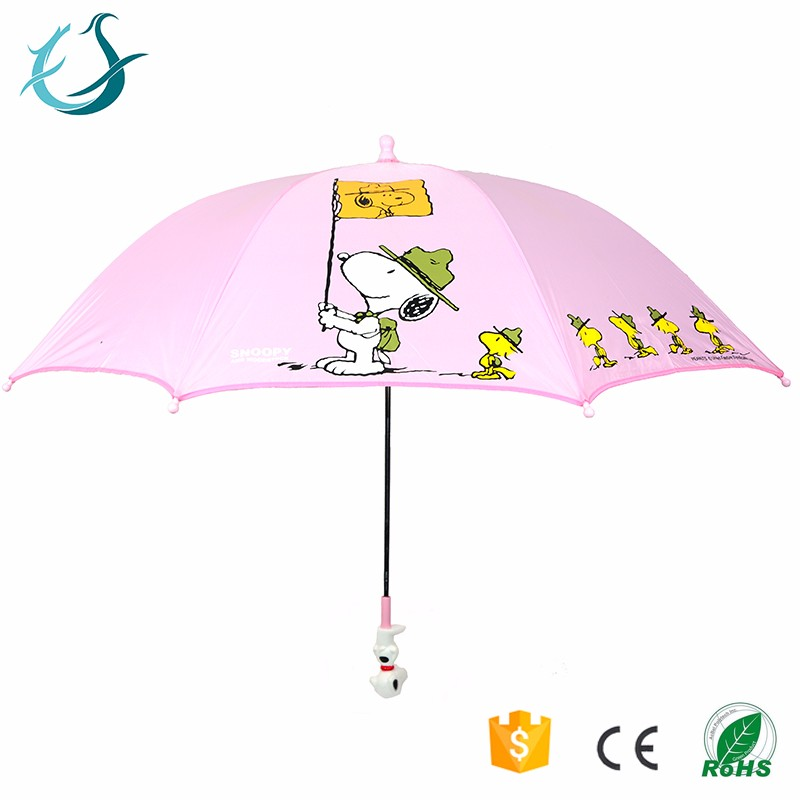 Inexpensive dog pattern printing 19 inches fancy print child umbrella