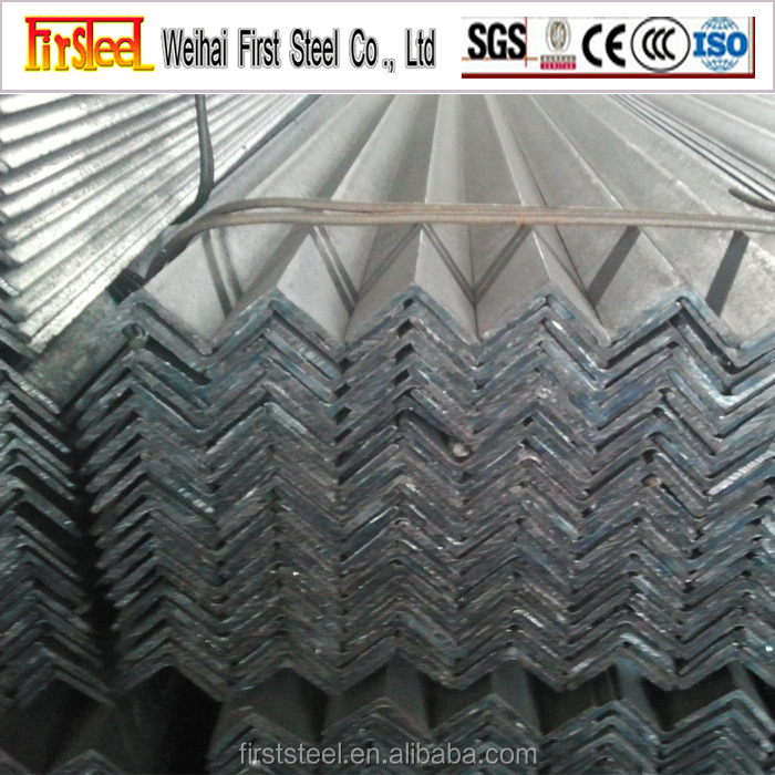 China suppliers building material equal leg steel angle bar