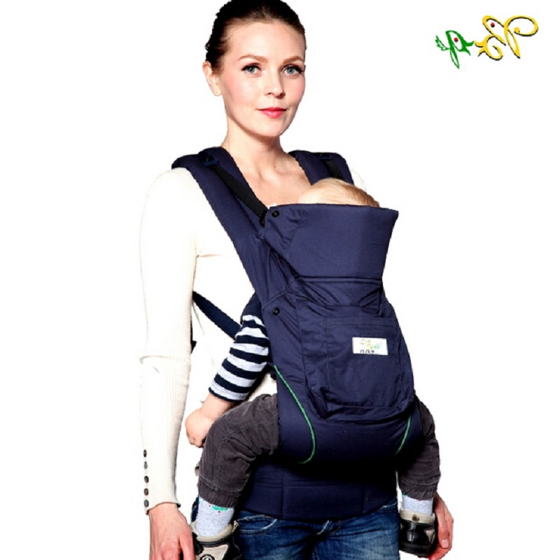 2016 Organic Cotton Ergonomic Baby Carrier New Infant Carrier Sling Baby Suspenders Classic Baby Backpack